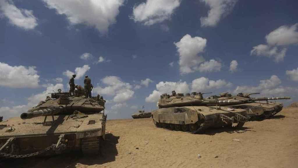 Varios tanques, en una imagen de archivo.