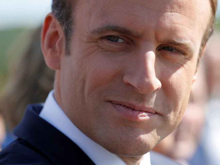 La popularidad de Macron ha descendido hasta el 40%.