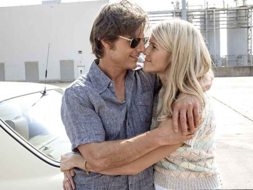 Sarah Wright y Toma Cruise en la película.