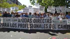 manifestacion sequia agricultores upa uccl asaja valladolid 8