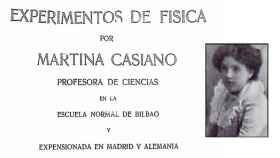 La obra de Martina Casiano y Mayor.
