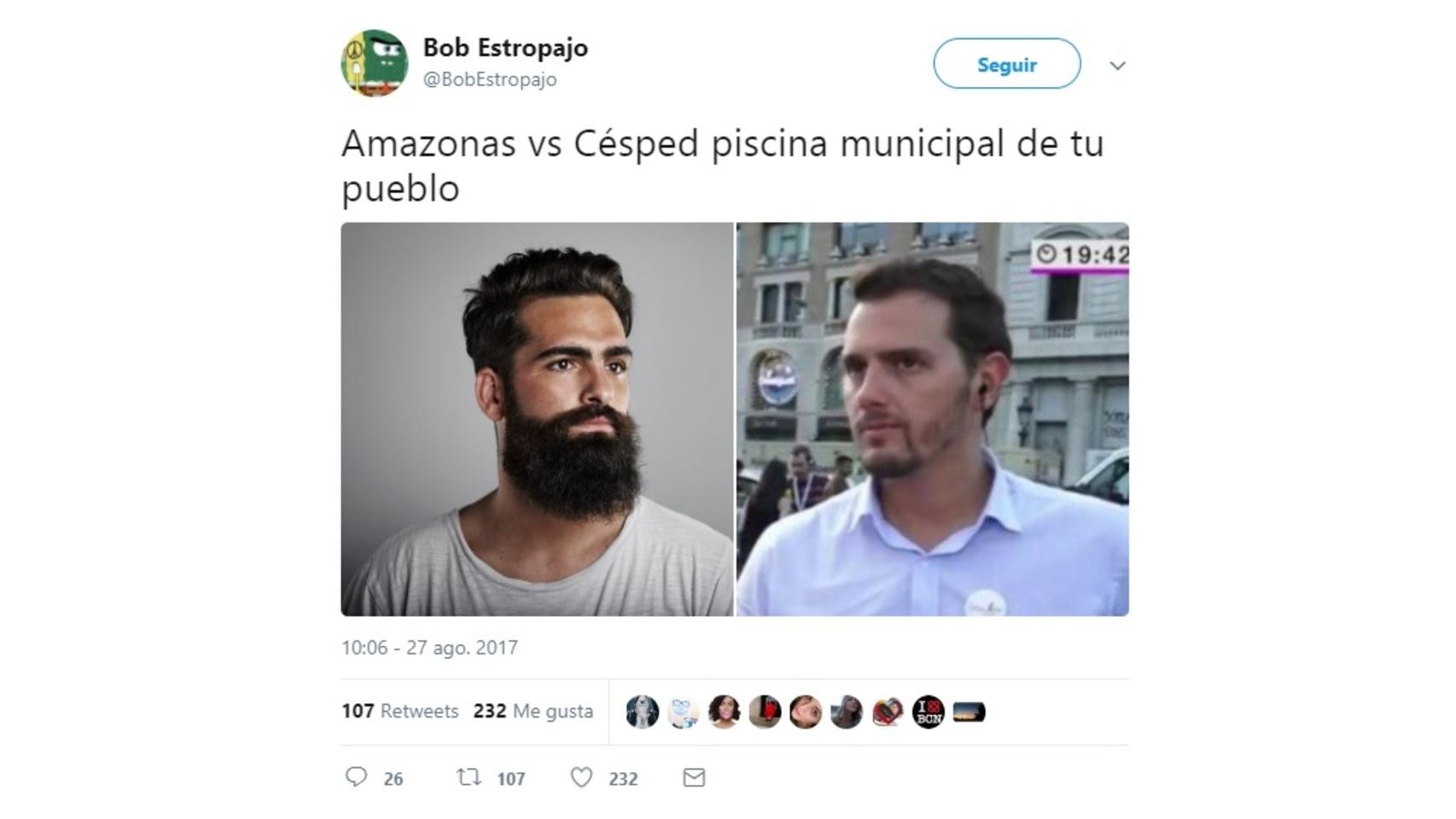 Todos los comentarios sobre la barba de Albert Rivera en Twitter.