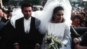 Isabel Pantoja y Paquirri el día de su boda.