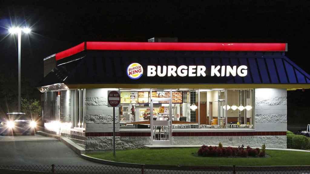 Establecimiento de la cadena Burger King.