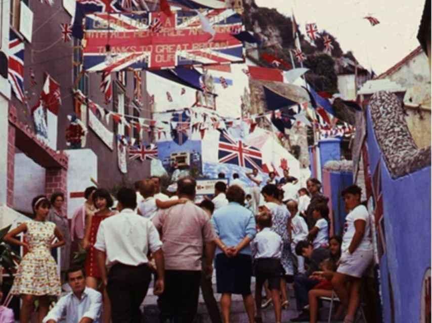 Las calles de Gibraltar, el día del referéndum.