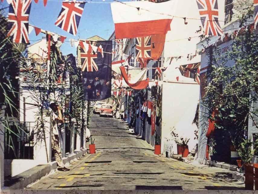 Las calles de Gibraltar en el día del referéndum.