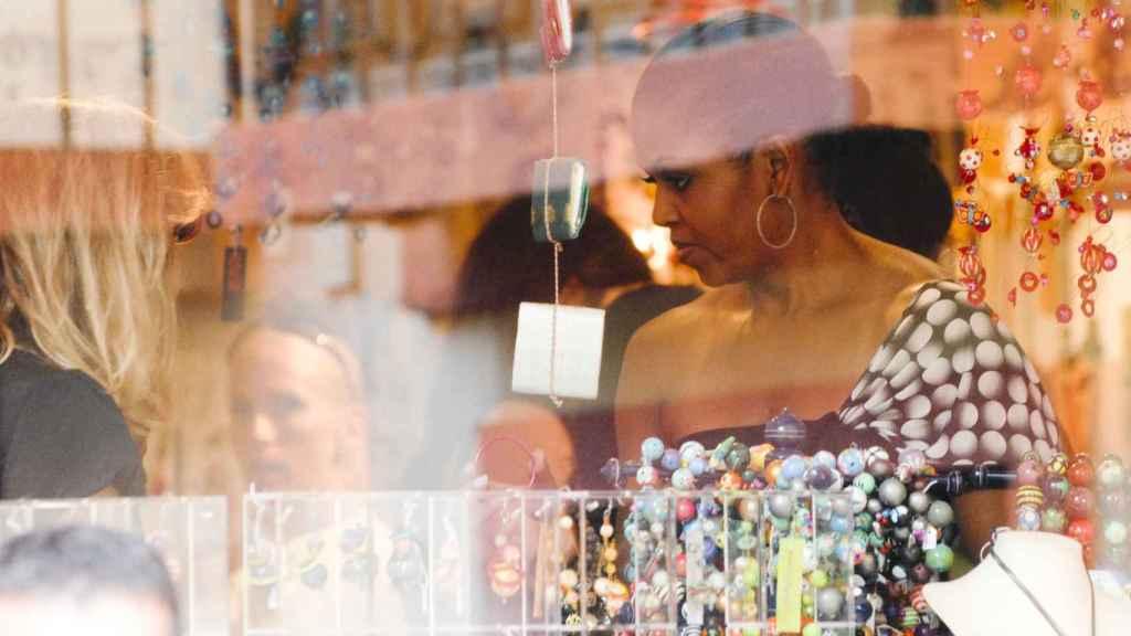 Michelle Obama regresó a los USA más morena si cabe tras su paso por las playas de Málaga.
