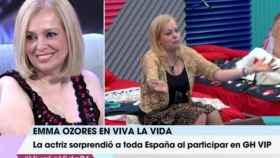 Emma Ozores: 'GH VIP' me ha aportado mucha riqueza interior