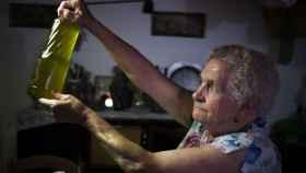 Rafaela emplea aceite de oliva virgen extra para la elaboración de sus remedios caseros.