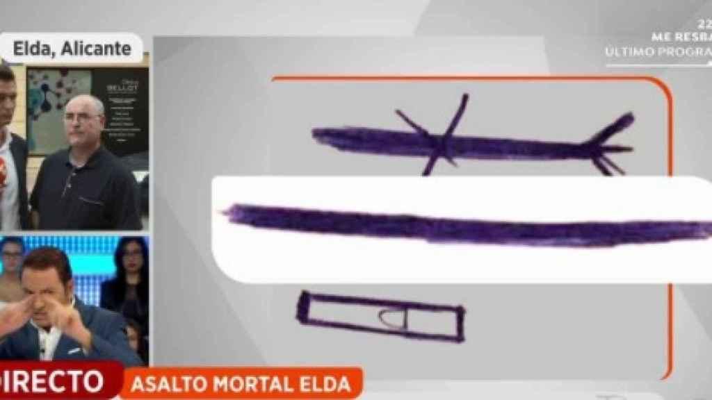 La mujer agredida en Elda había recibido notas amenazantes en los últimos meses