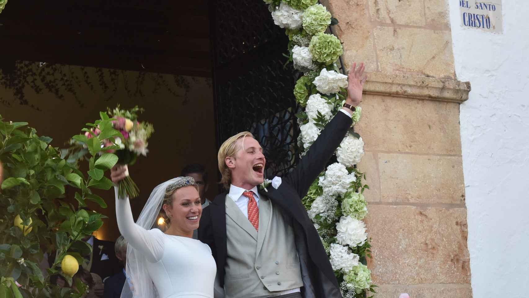 Así fue la boda de Marie-Gabrielle de Nassau y Antonius Willms