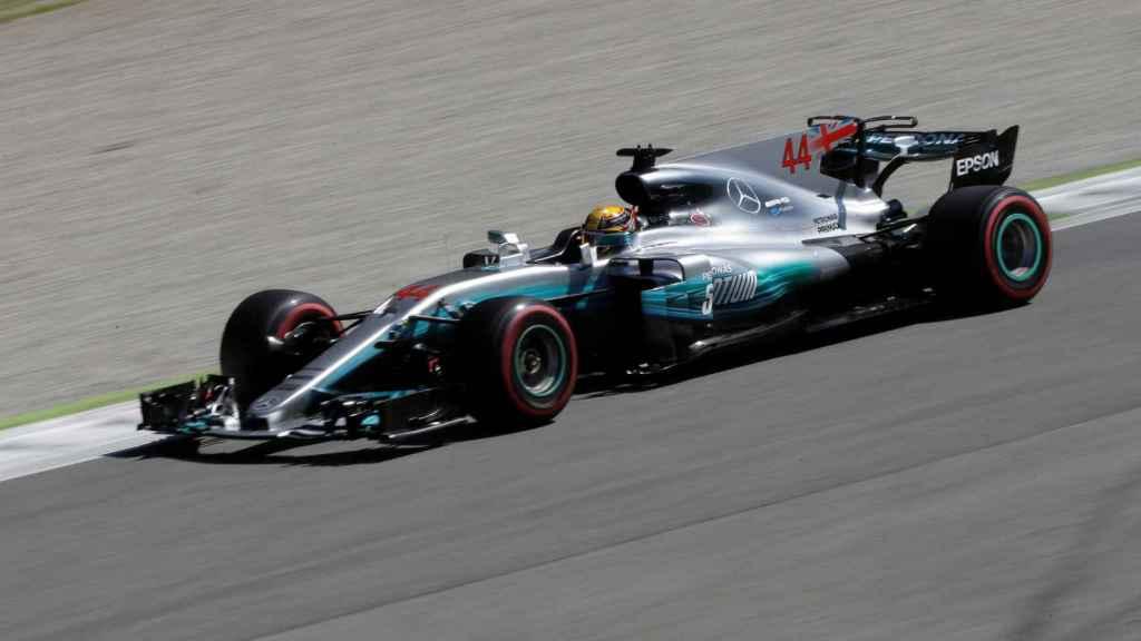 Hamilton gana el Gran Premio de Italia en Monza.