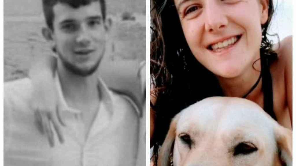 Marc Hernández y Paula Mas, en las fotografías difundidas por su familia.