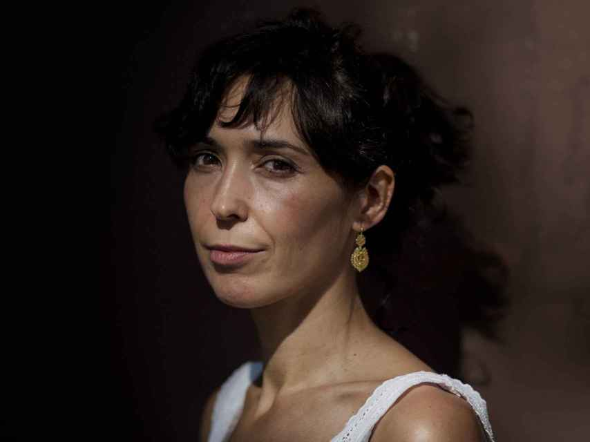 La escritora Edurne Portela.