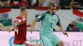 Coentrao se lesiona con Portugal. Foto fpf.pt
