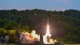 El misil lanzado al Mar del Este por Corea del Sur