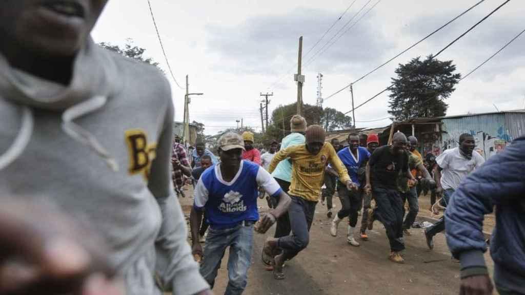 Protestas en Kenia tras las elecciones.