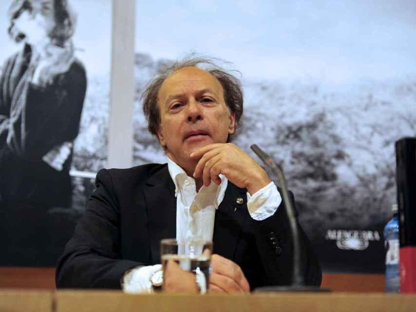 El autor Javier Marías. EFE.