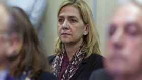 La Infanta Cristina en el banquillo.