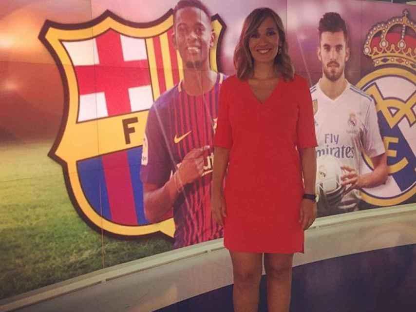 La periodista Rocío Martínez.