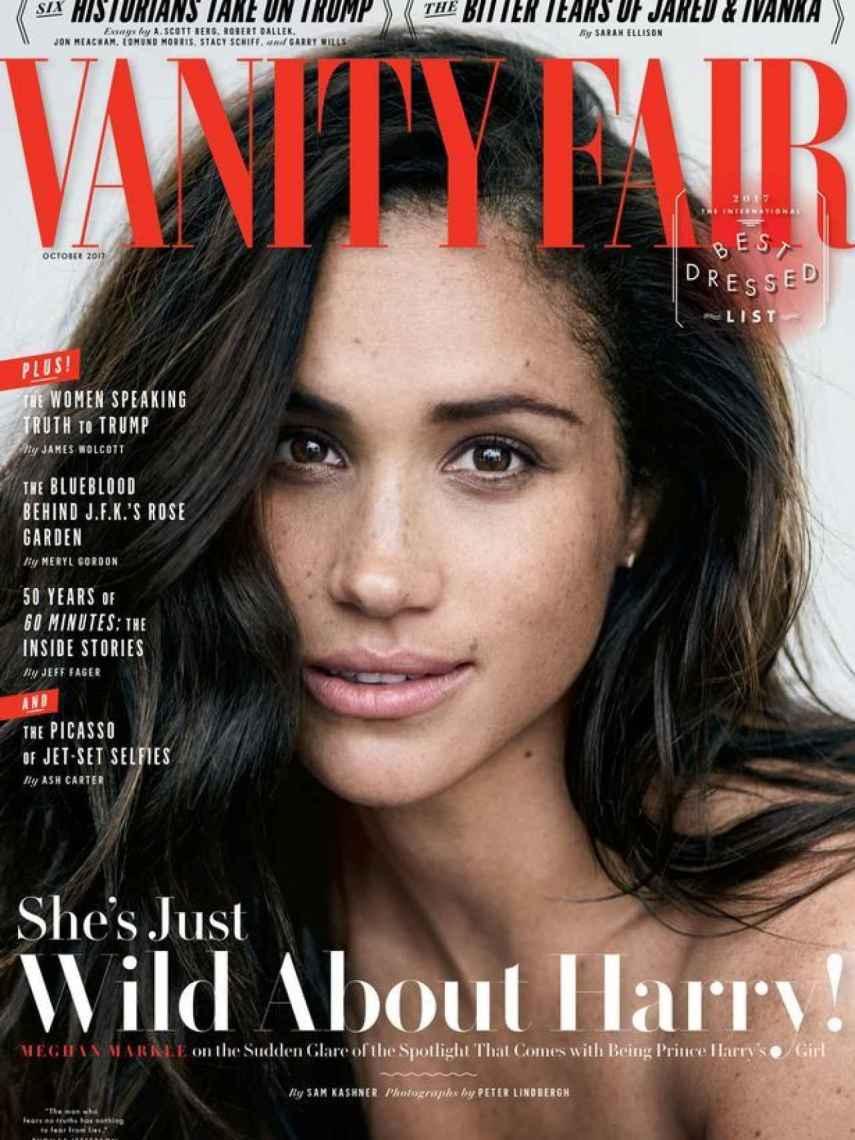 Meghan Markle en la portada de Vanity Fair
