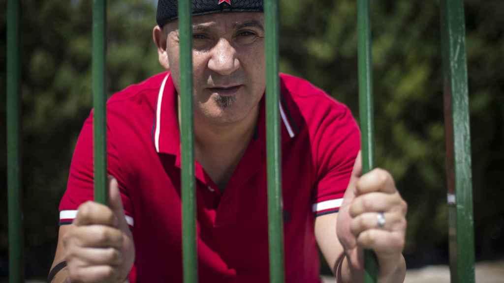 Andrés Bódalo, durante un permiso penitenciario, con las esperanzas puestas en que se le conceda el tercer grado.