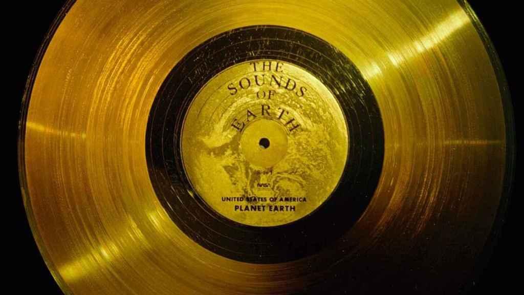 Disco de oro.