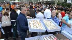 degustacion postre tarta san lorenzo fiestas valladolid 8
