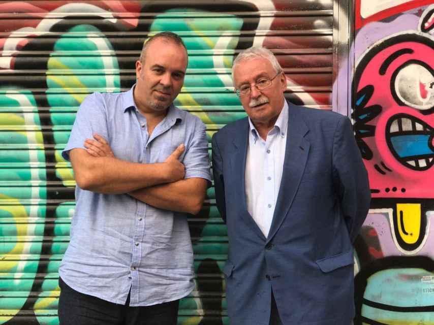 Rubén Buren y Joaquín Leguina, autores del libro Premio Novela Histórica Alfonso X.