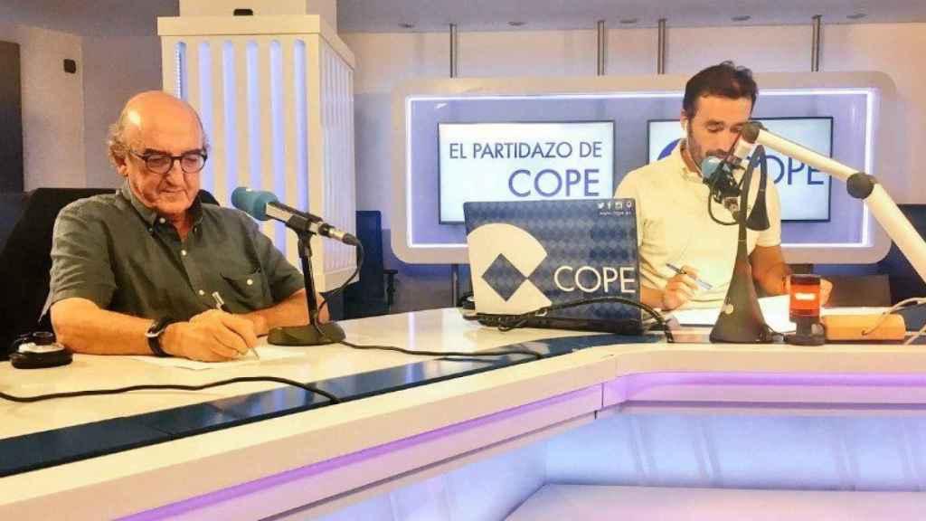 Jaume Roures en El Partidazo de COPE. Foto Twitter (@partidazocope)