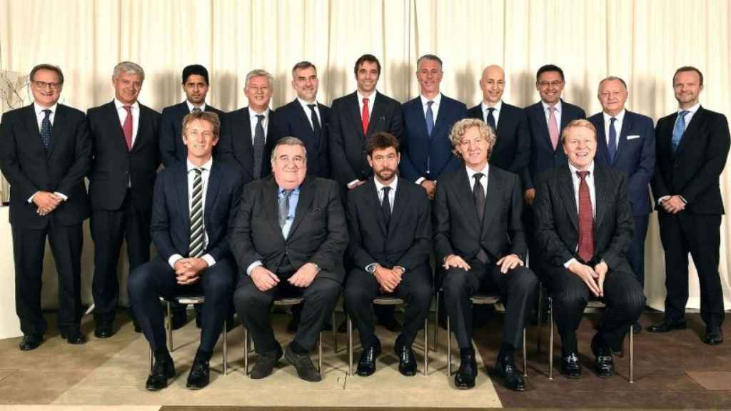 Reunión de la ECA. Foto: Twitter (@ECAEurope).