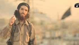 Yassin Ahram Pérez, en un vídeo enviado por el Estado Islámico