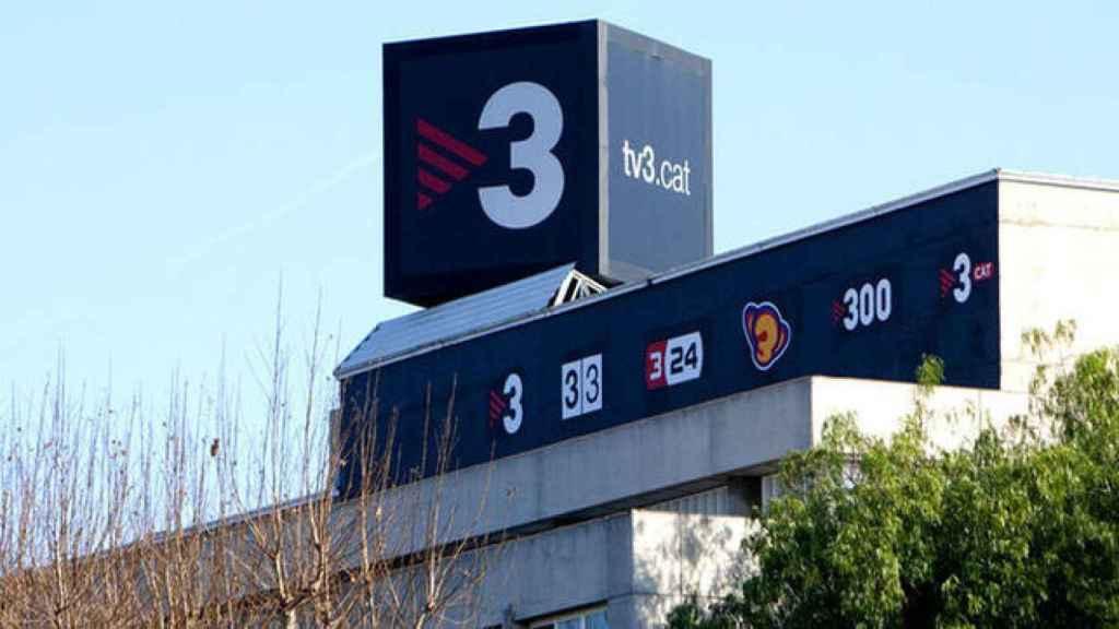 Edificio de TV3, una de las cadenas autonómicas que ha reducido sus ingresos por publicidad.