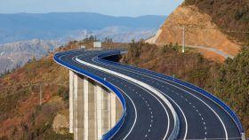 Imagen de una de las autopistas.