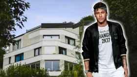 Neymar con la camiseta del PSG
