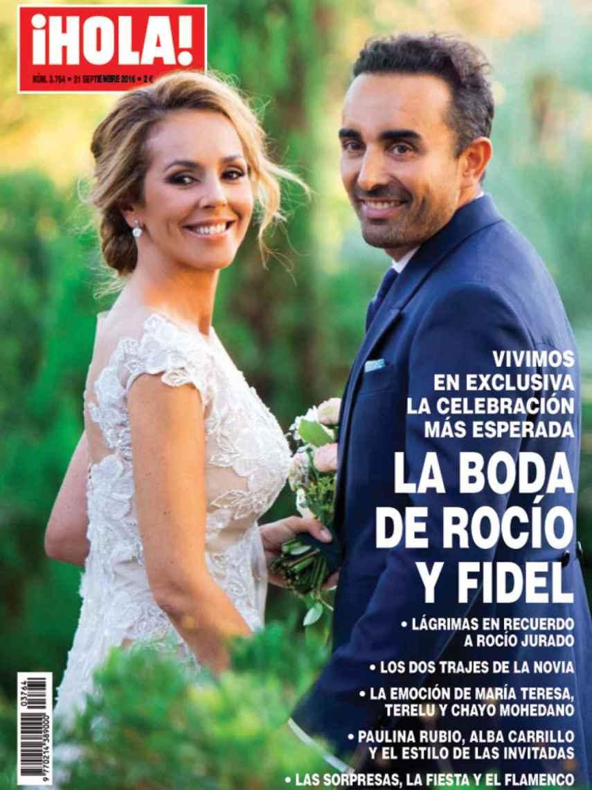 Portada de la revista Hola, con la exclusiva de la boda.