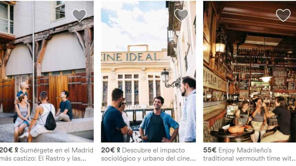 Airbnb Trips debuta en Madrid.