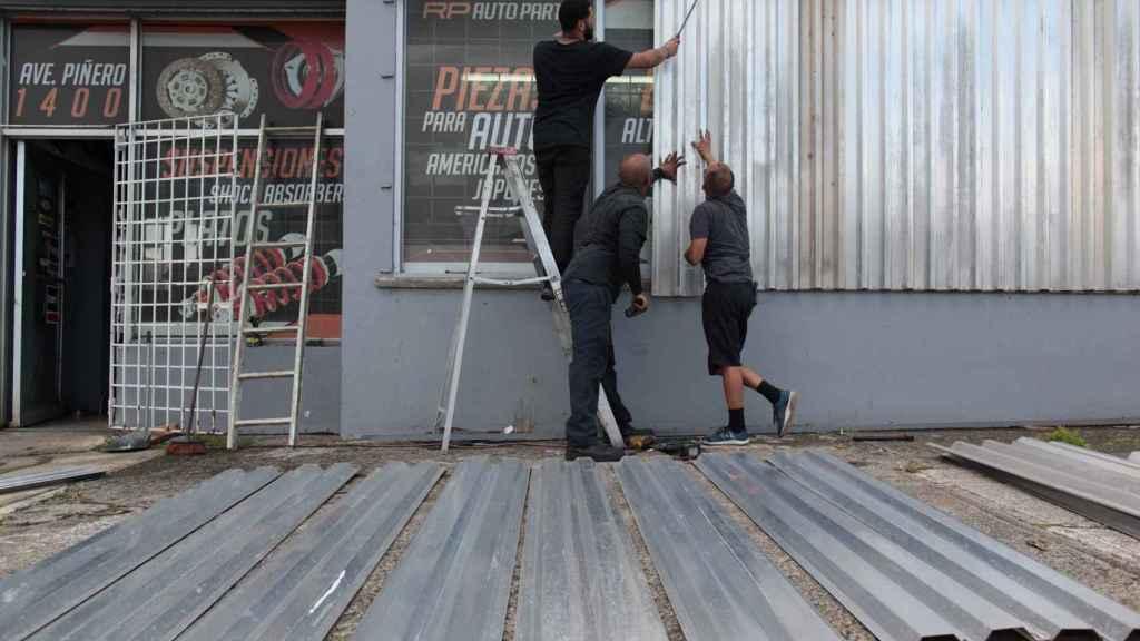 Los comercios de Puerto Rico están preparados para la llegada de la tormenta