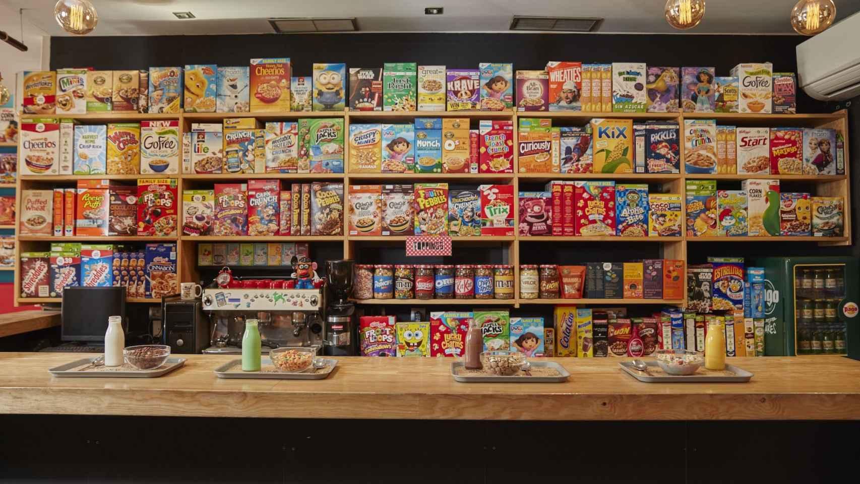 Uno de los locales de Cereal Hunters.