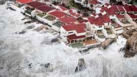 La costa de la isla de Saint Martin ha resultado afectada