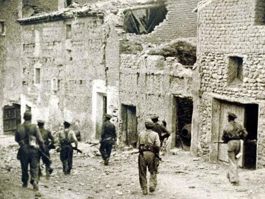 La batalla de Belchite se libró casa por casa, calle por calle.