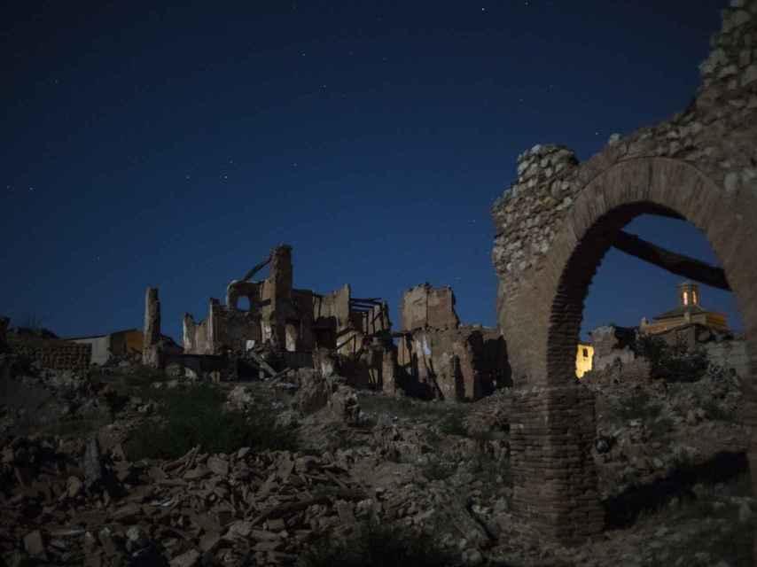 Las ruinas de Belchite albergan multitud de historias y leyendas.