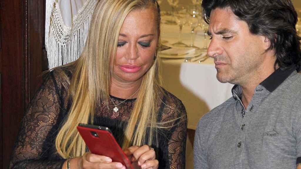 Belén Esteban y Toño Sanchís cuando todavía trabajaban juntos, 2015.