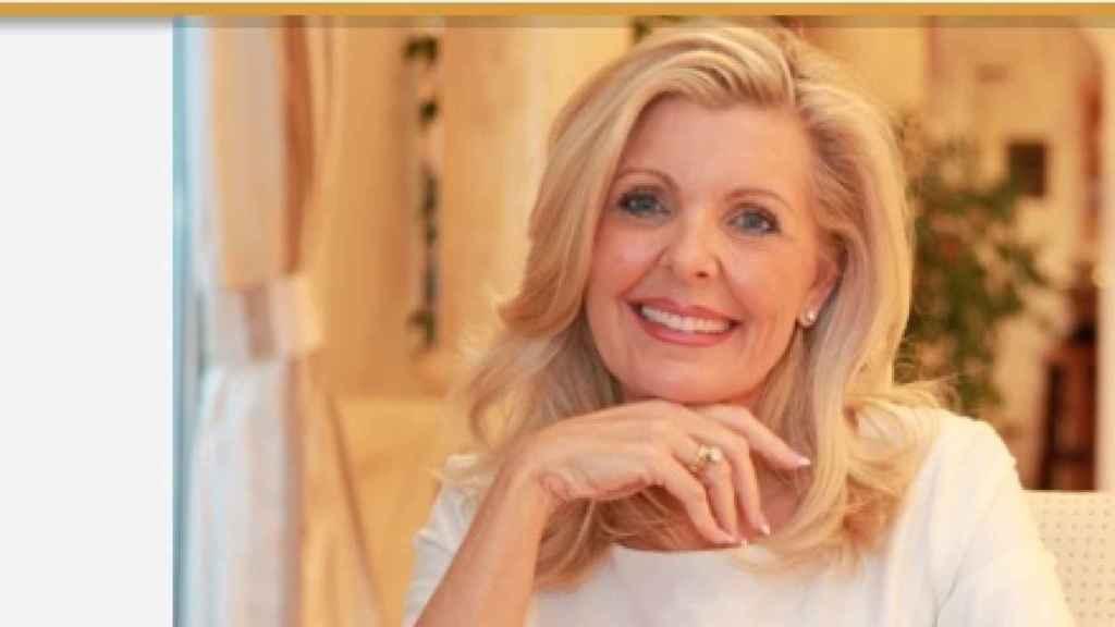 La madre de Laura y su página web de mamá rica.