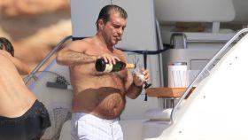 Laporta durante unas vacaciones en Formentera en 2011.