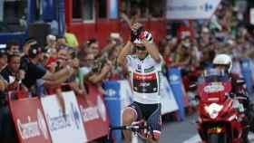 Alberto Contador, en su retirada.