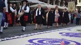 procesion virgen san lorenzo fiestas valladolid 2017 6