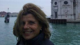La turista sevillana en un viaje a Venecia.