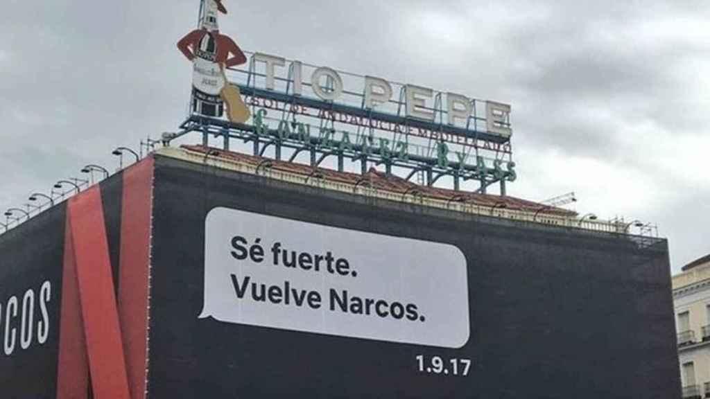Narcos en la Puerta del Sol.