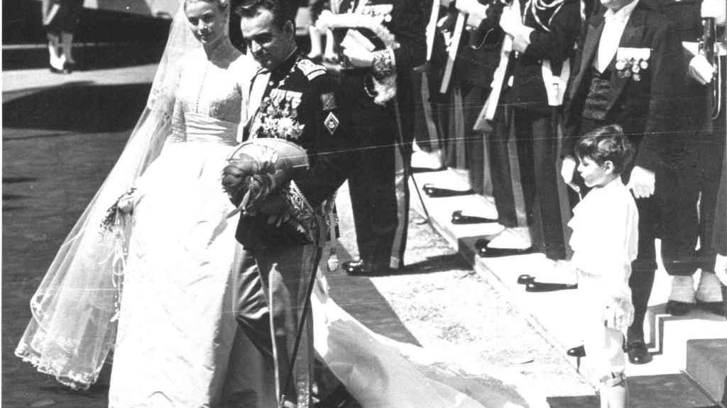 Su vestido de novia real ha sido uno de los más imitados de la historia.  Foto: GTRES.